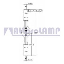 (CB) Ксеноновая лампа OSRAM Sylvania XBO 2000W/HS OFR Xenon