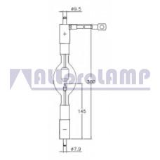(CB) Ксеноновая лампа OSRAM XBO 2500W/HS OFR