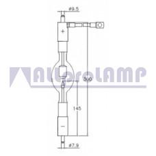 (CB) Ксеноновая лампа OSRAM XBO 3000W/HS OFR