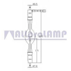 (CB) Ксеноновая лампа OSRAM XBO 4500W/HS OFR