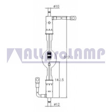 (CB) Ксеноновая лампа OSRAM XBO 2000W/HCC OFR