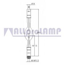 (CB) Ксеноновая лампа Superior Quartz SX4000HTP