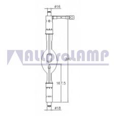 (CB) Ксеноновая лампа OSRAM XBO 5000W/H OFR