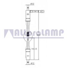 (CB) Ксеноновая лампа OSRAM XBO 2000W/H OFR