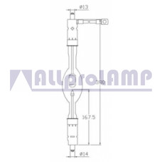 (CB) Ксеноновая лампа OSRAM XBO 4200W/GS OFR