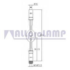 (CB) Ксеноновая лампа Superior Quartz SX3000HTP