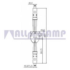 (CB) Ксеноновая лампа OSRAM XBO 3000W/DTP OFR