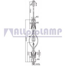 (CB) Ксеноновая лампа OSRAM XBO 2000W/HPN OFR  Xenon
