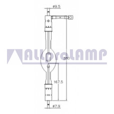 (CB) Ксеноновая лампа Yumex YXL-50SC